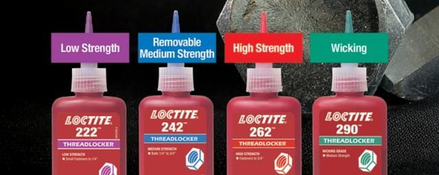 Loctite threadlocker colors explained